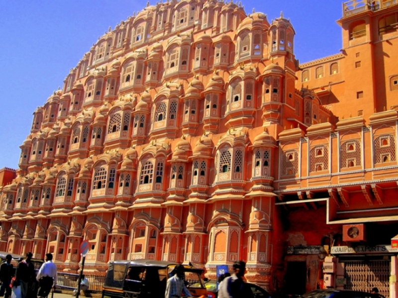 the pink city, jaipur