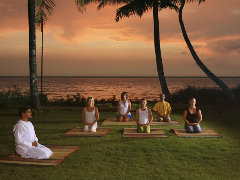 yoga meditation tour package